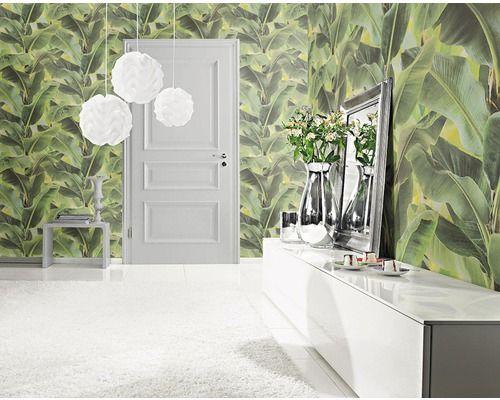 Hornbach Badezimmer ~ Vliestapete african queen ii floral grün bei hornbach kaufen