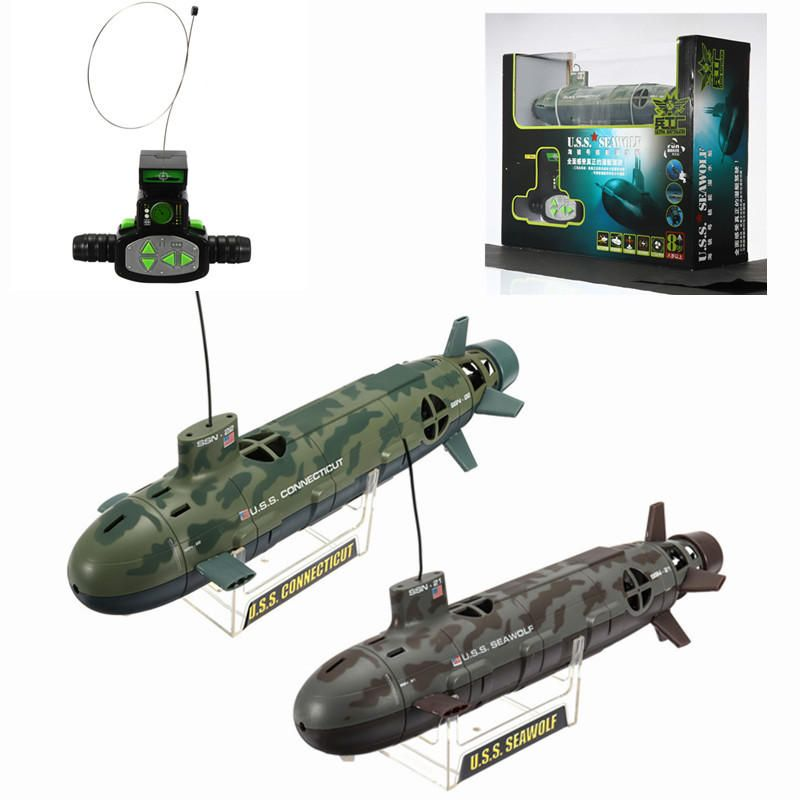 Scuba Seawolf Nuclear Submarine Remote Control Toy 6 Channel 35cm Rc Diving Nuclear Submarine Rc Boats Remote Control Boat