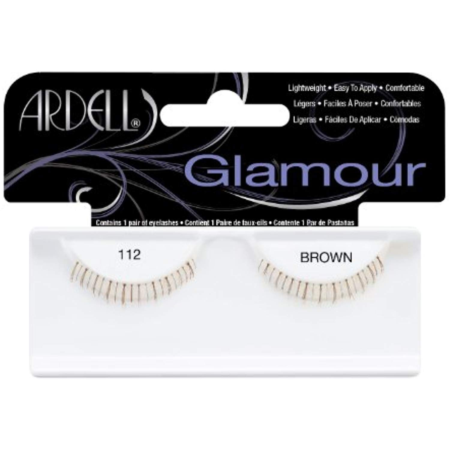 26d30c55f3d Ardell Fashion Lashes Pair - 112 Lower Lashes Brown (Pack of 4) **