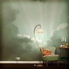 Bilder · Wolken Tapete: Ausgefallene Wand ...