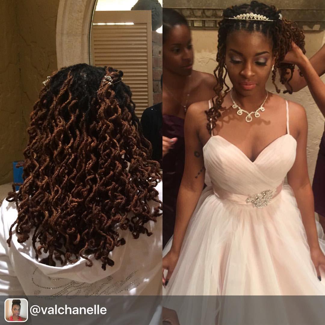 Pin By Rhea Wainwright On Locs Hairstyles Dreadlock Wedding Hairstyles Locs Hairstyles Hair Styles