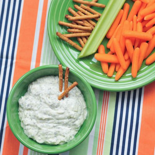 vegan spinach dip via @spabettie