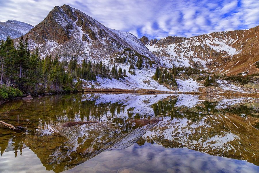 Hiking to Heart and Rogers Peak Lakes