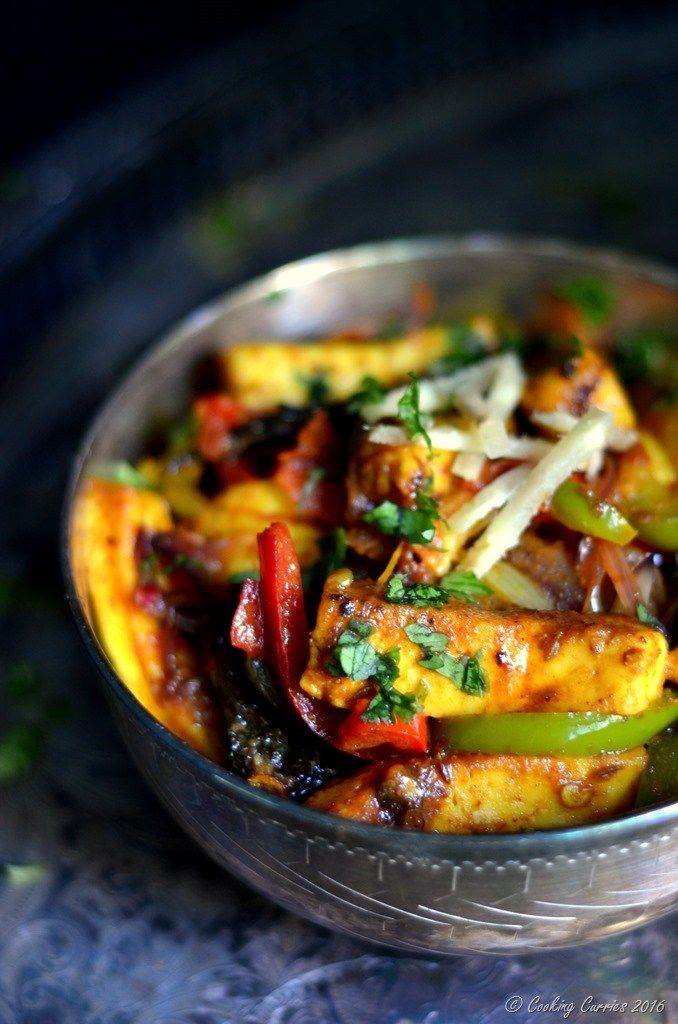 Paneer jalfrezi paneer stir fried with vegetables www if youre in a dinner rut its time to expand your horizons presenting 31 indian inspired dinner ideas to try pass the naan forumfinder Choice Image
