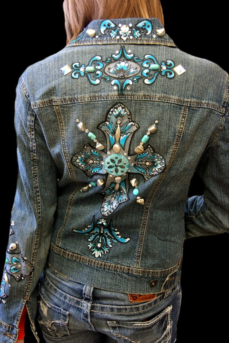 Unique one of a kind hand painted wearable art. Cool ...