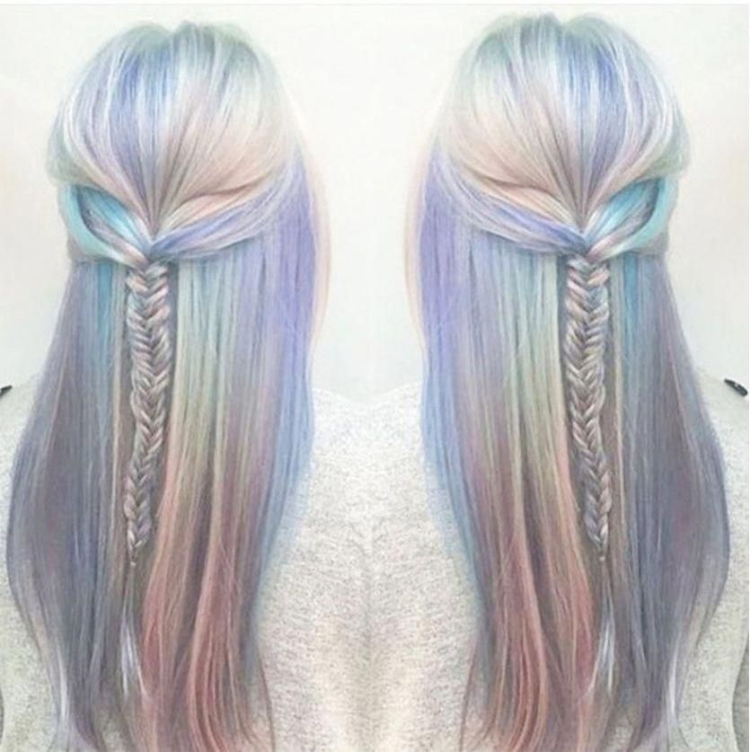 Holographic Hair explained. How to do it? What is it? - long ...