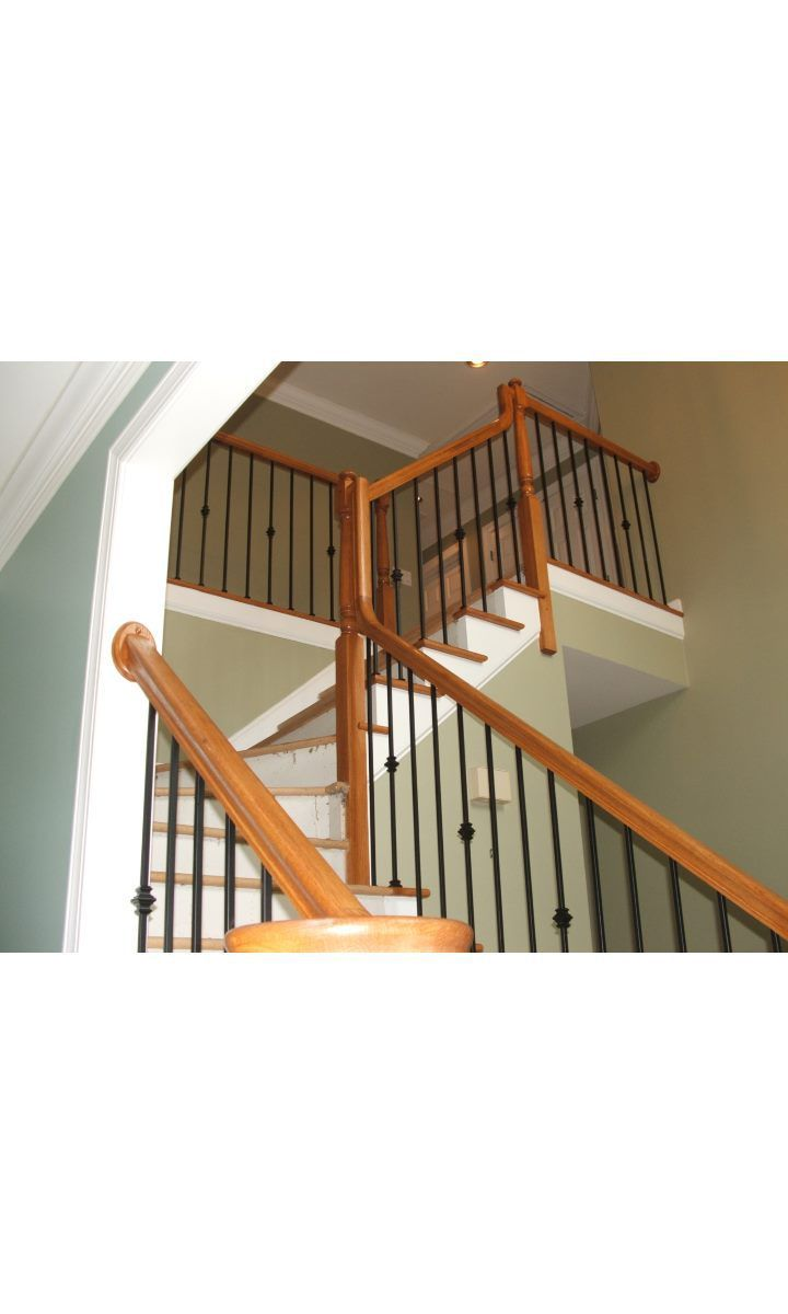 Best Versatile Straight Stairs Iron Balusters Metal 400 x 300