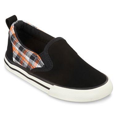 a535c1eb0dcb Joe Fresh™ Canvas Toddler Boys Slip-on Shoes - jcpenney