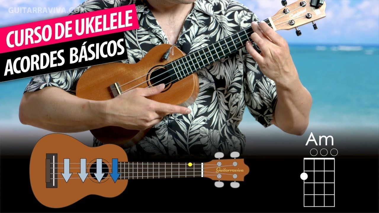 Curso De Ukelele Completo Clase 3 Primeros Acordes En Ukelele Guit Ukelele Guitarras Cursillo