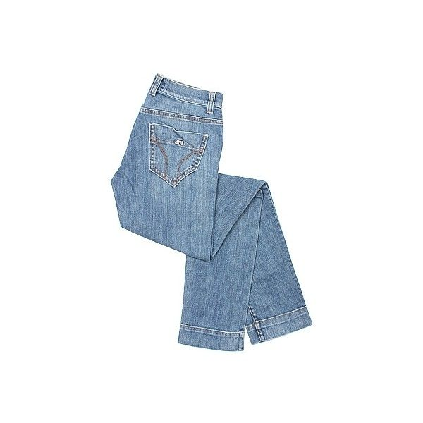 - High Binky Washed Denim Jeans - Jeans - Frockaholics - Australian... (895 RON) ❤ liked on Polyvore