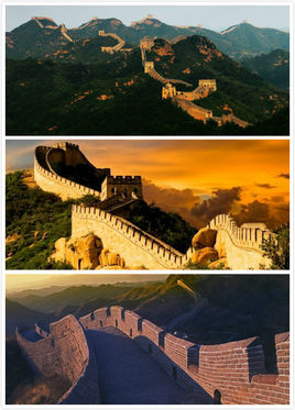 The Great Wall Is A Military Defense Project In Ancient China It Is A Tall Solid And Continuous Terrace To Limi China Culture Ancient China Natural Landmarks