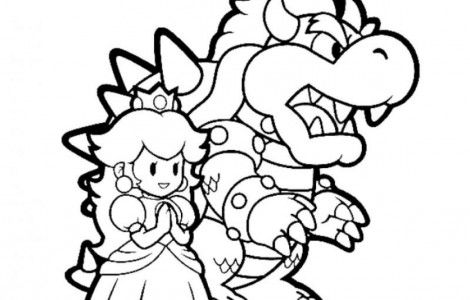 Mario And Princess Peach Coloring Pages Mario Coloring Pages Super Mario Coloring Pages Super Coloring Pages