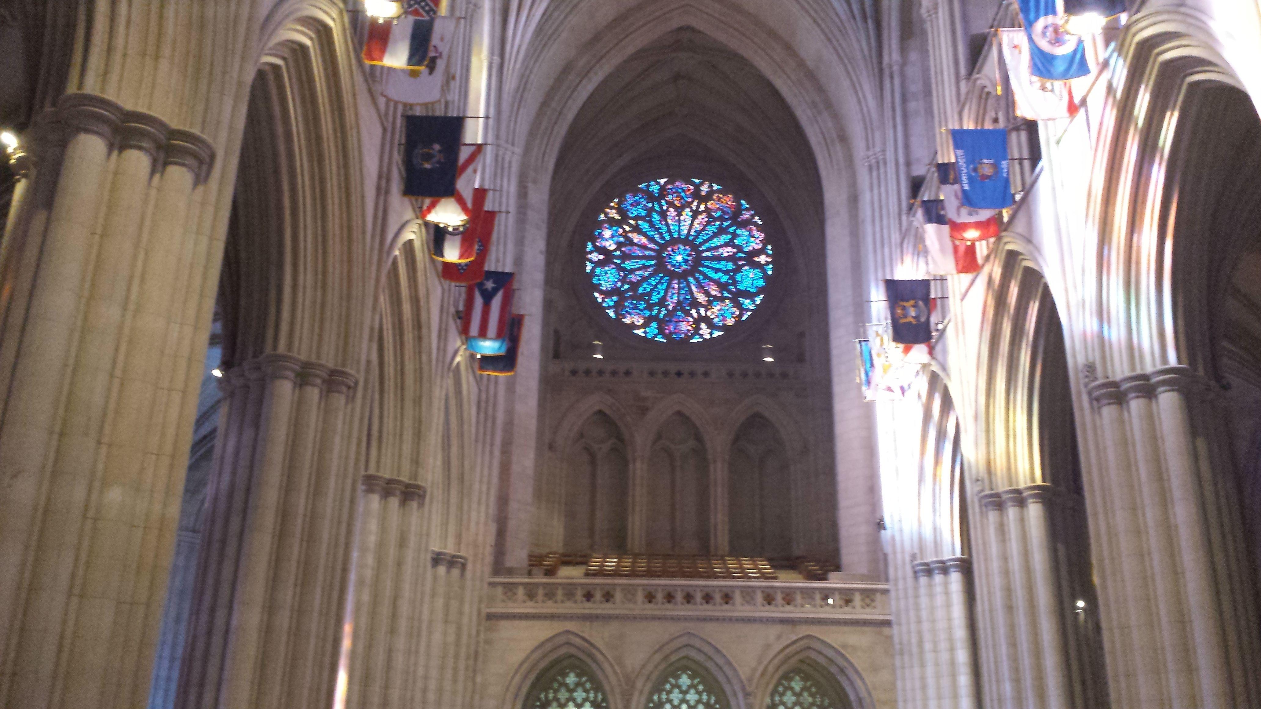 Rose Window National Cathedral Washington Dc