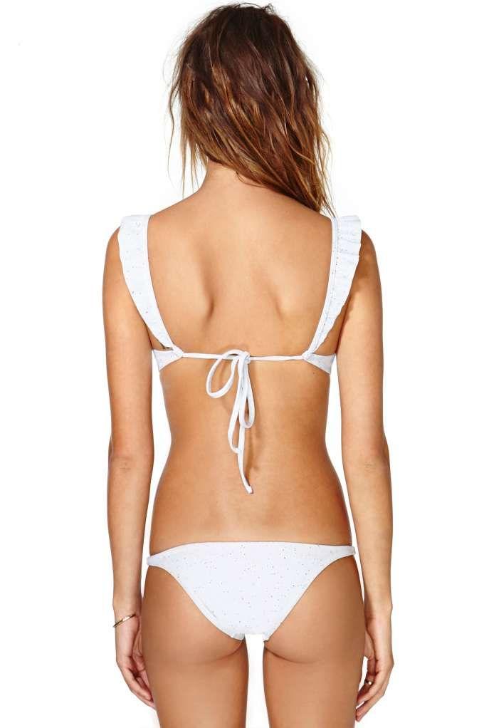 e7810b751bacb Made By Dawn Petal Bikini Bottom $98 | aqua | Bikinis, Bikini tops ...