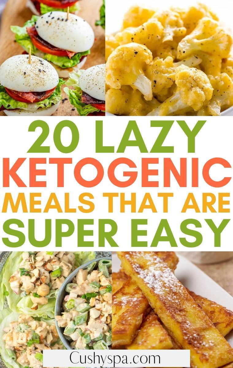 20 lazy keto meals that are so easy to make in 2020