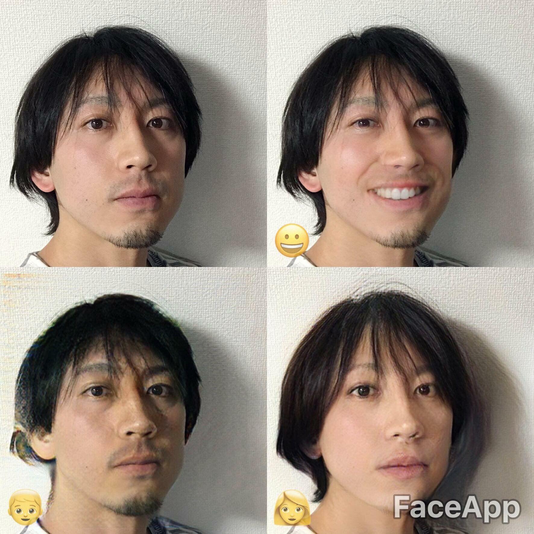 美女になれると話題のカメラアプリ Faceapp アラフォー男子が試すと悲惨な結果に 世永玲生 Engadget 日本版 悲惨 パターン 学習