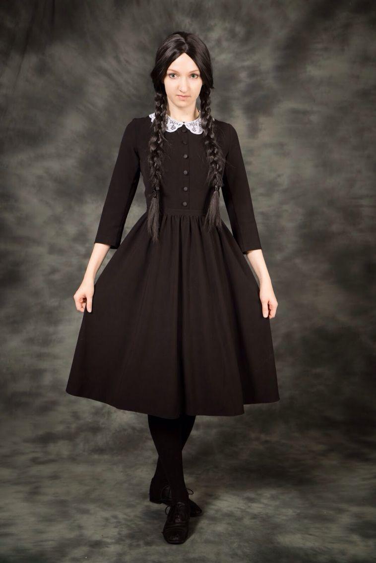 Wednesday Addams Wednesday addams costume, Wednesday