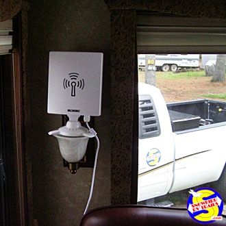 Best Wifi Booster Antenna For Rvers At Http Amzn To 2avet56 Making Your Life On The Road Easier Niki And I Have A Need To Be Able To Diy Rv Camper Rv Stuff
