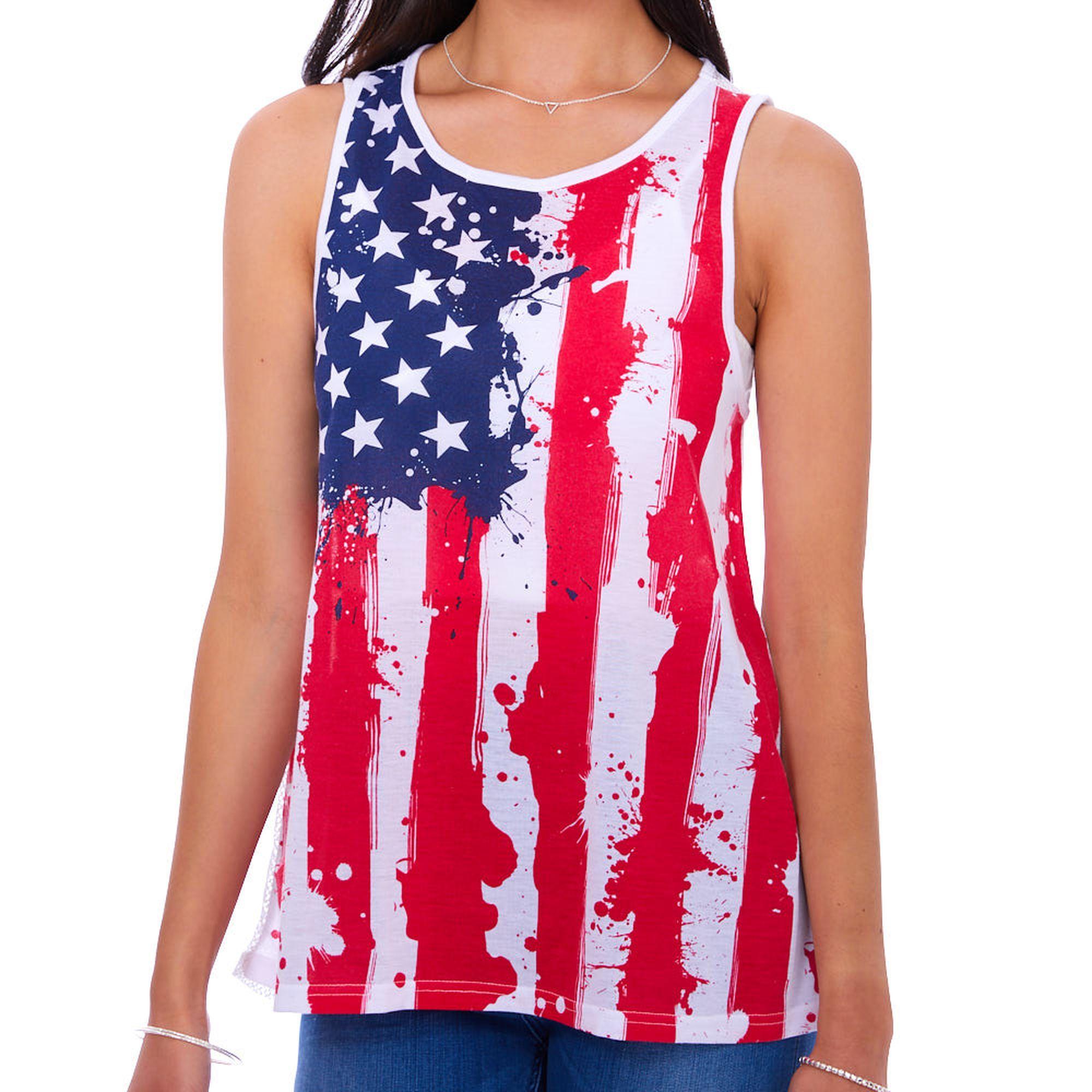 American Flag Tank Top American Flag Tank American Flag Tank Top Tops