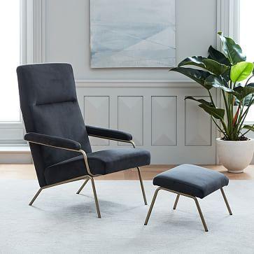 Loren Chair Westelm Living Room Chairs Modern Furniture
