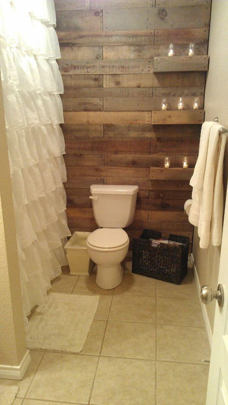 Rustic Small Bathroom Wood Decor Design Ideas 77 Rustic Bathroom