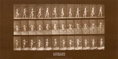 Woman Skipping Rope Poster av Eadweard Muybridge hos AllPosters.no