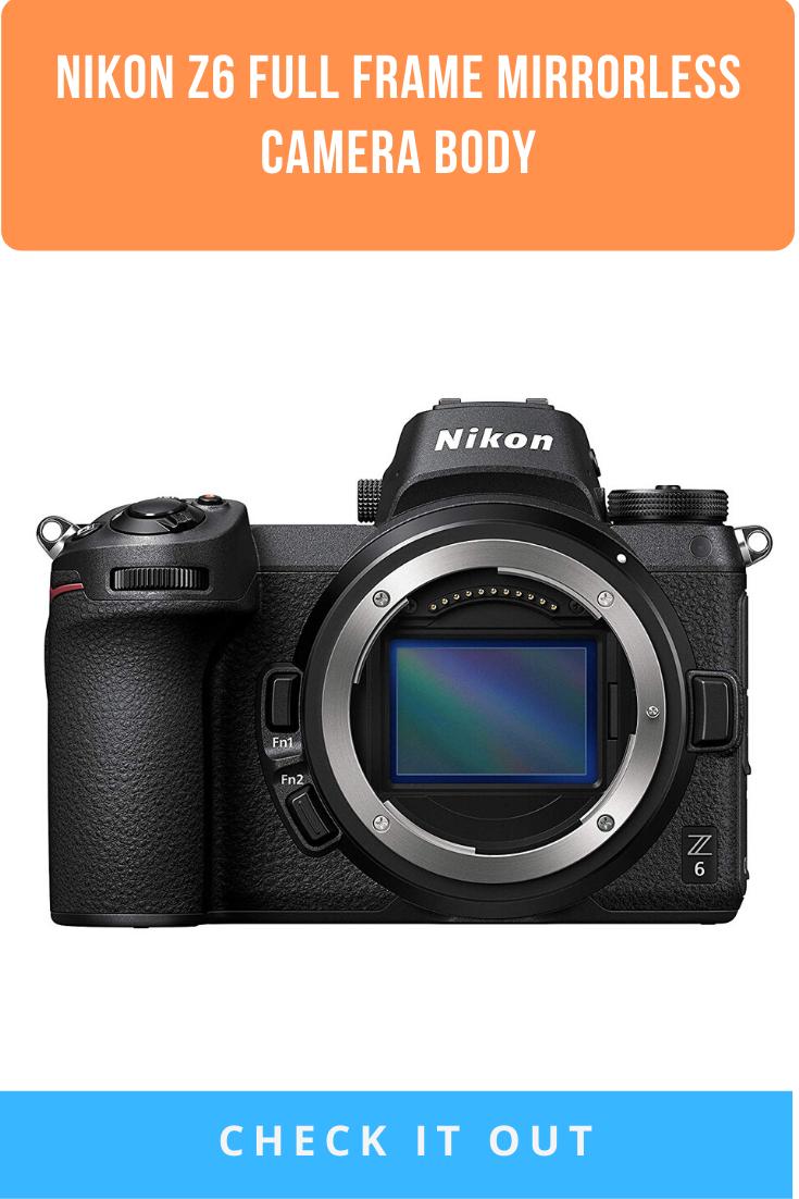 Nikon Z6 Full Frame Mirrorless Camera Body Mirrorless Camera Camera Full Frame