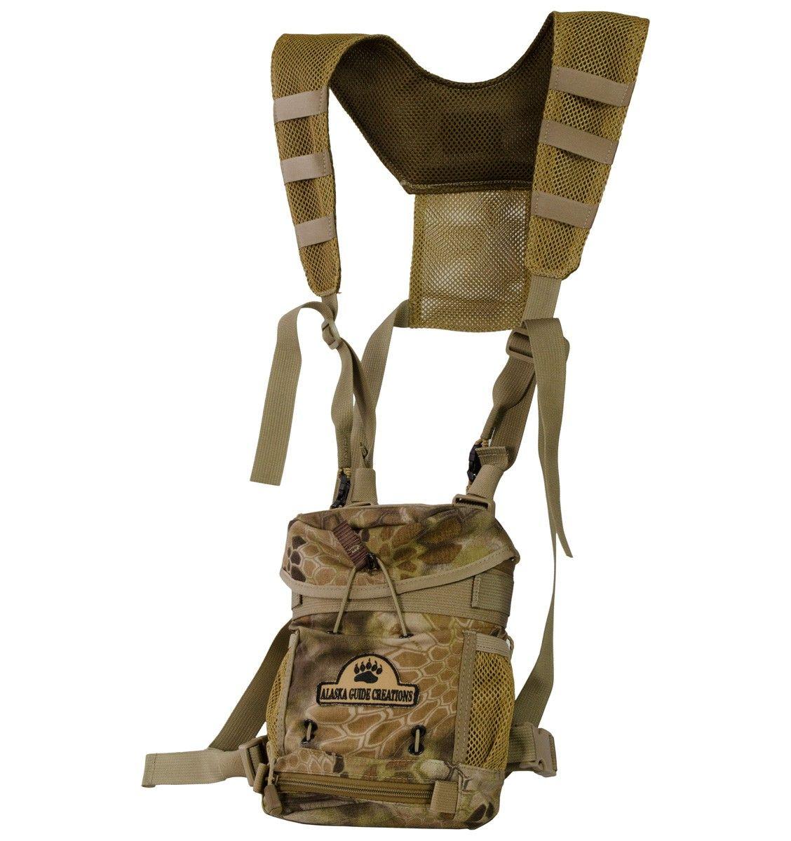 Alaska Guide Creations Kodiak K.I.S.S. Bino Harness - Highlander w/Max Pocket