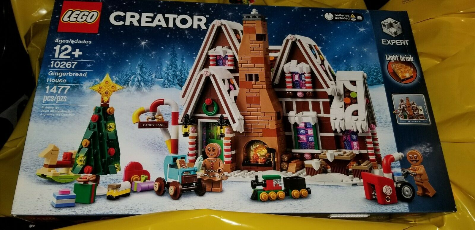 LEGO 10267, Creator Gingerbread House, New Sealed, In Hand