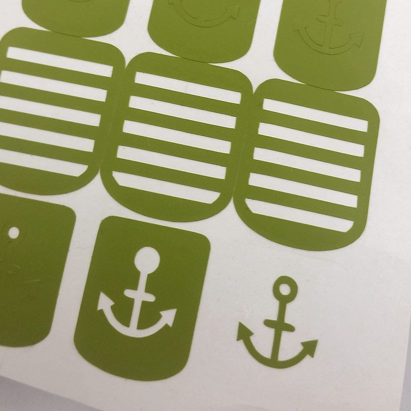Includes 30 stencils consisting of 15 anchors and 15 perfectly ...