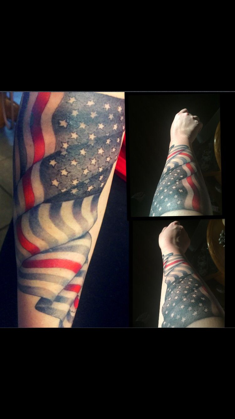 Thin Red Line Firefighter Tattoo Done By Remo At Reddagger Tattoo