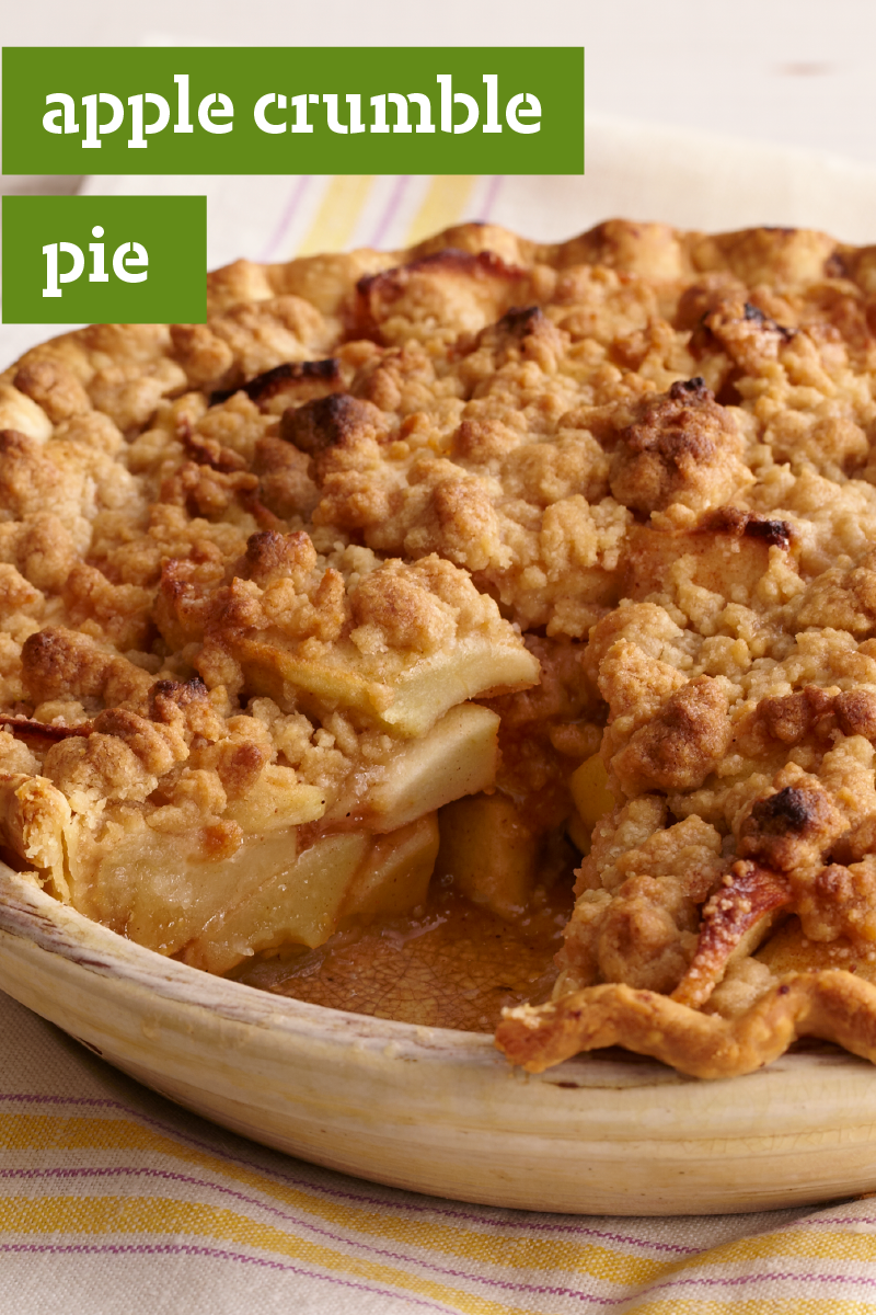 Apple crumble pie enjoy a tasty slice of this classic holiday apple crumble pie enjoy a tasty slice of this classic holiday dessert this season solutioingenieria Gallery