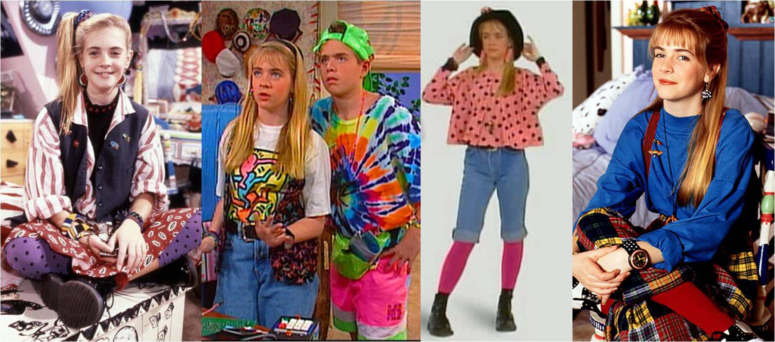 1990s early fashion trends foto