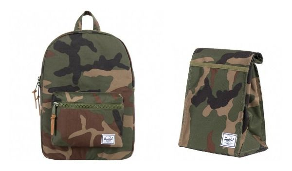 New Backpacks and Lunch Bags for Kids | Zaino in stile camouflage ...