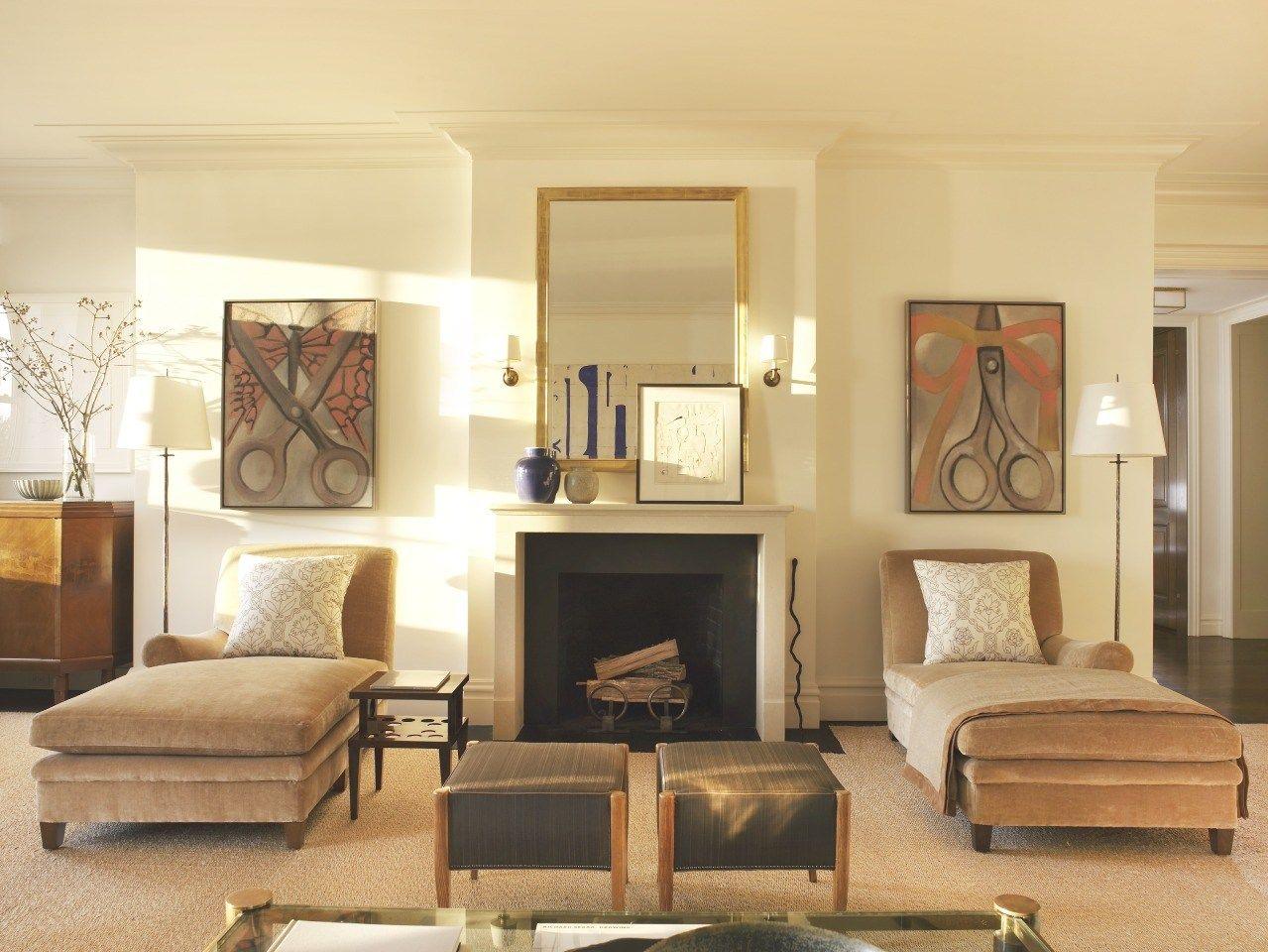 Mark Cunningham Inc Living Room Modern Living Dining Room Cozy Room