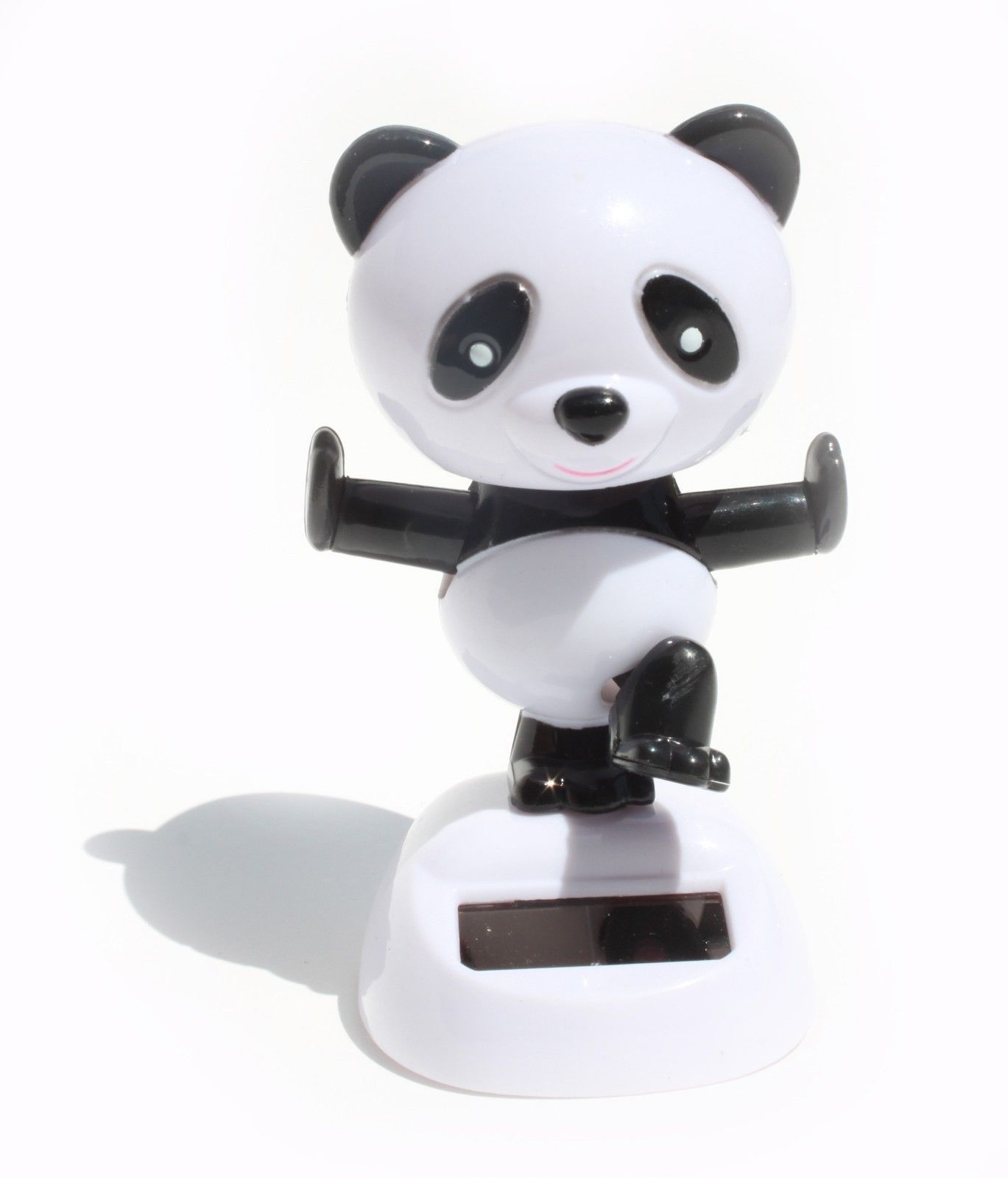 1 Kong Fu Panda Solar Bobble Head Toy Solar Powered Toys Panda Bobble Head