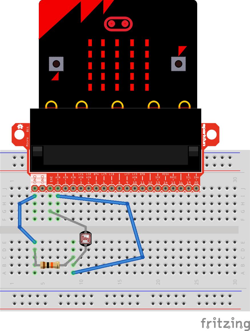 Microbit light sensor stlpc05oyg