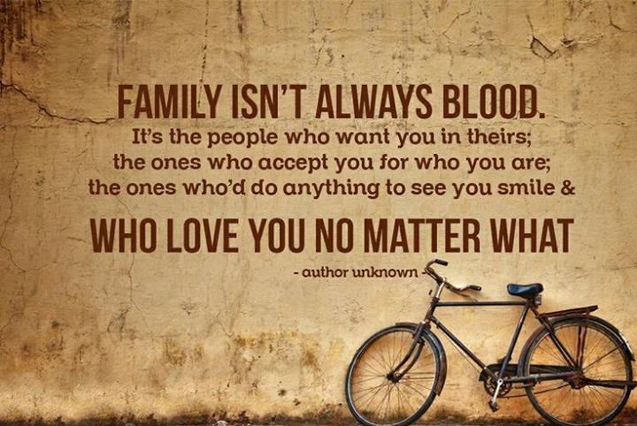 family is not about blood Google Search Quotes with