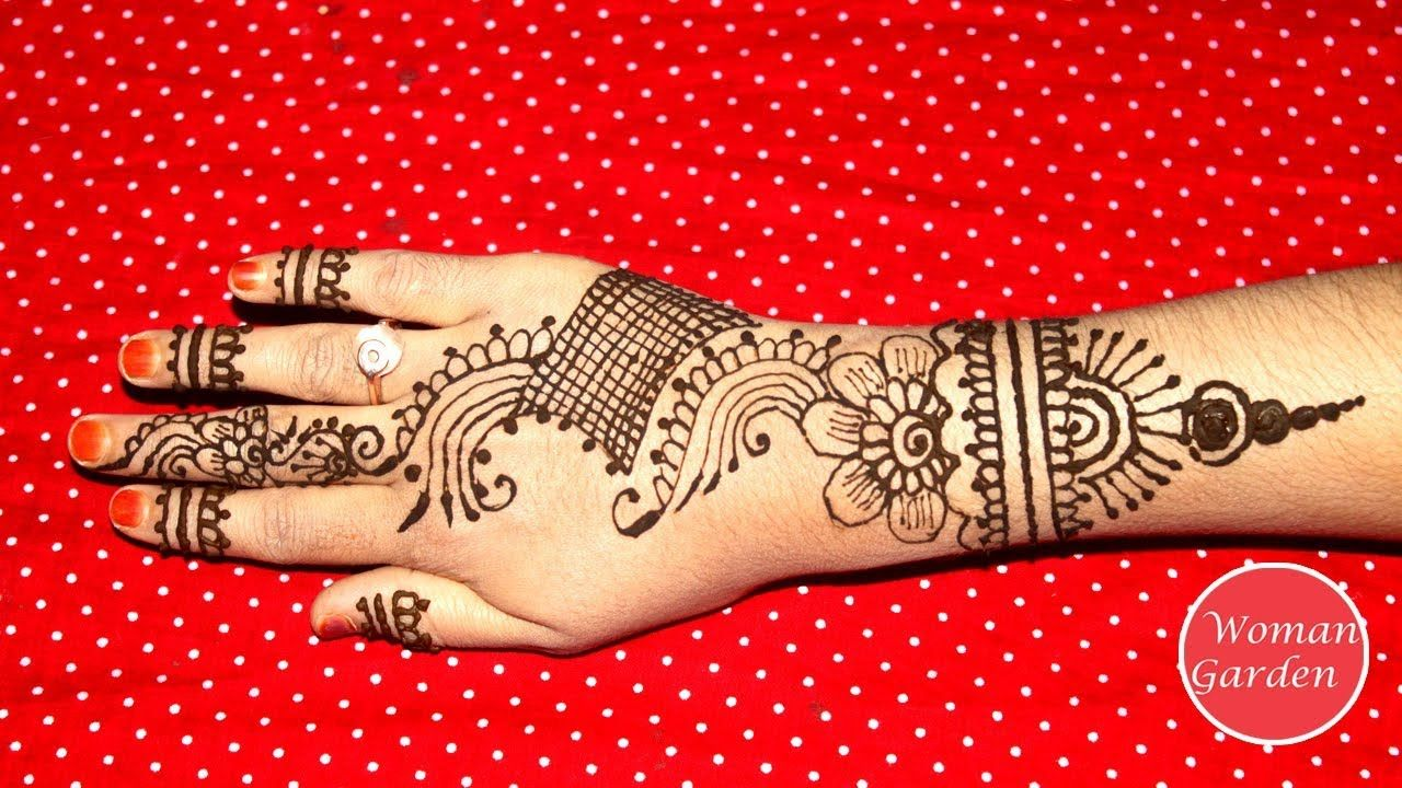 Latest Full Hand Mehndi Design Easy Beautiful Mehndi