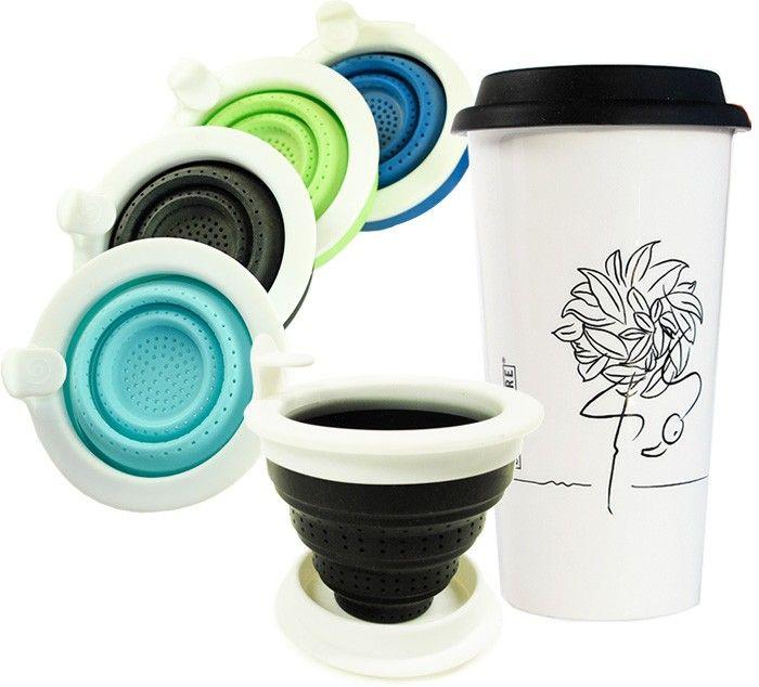 Travel Tea Mug  sc 1 st  Pinterest & Travel Tea Mug | tea kettles | Pinterest | Loose tea infuser and Teas