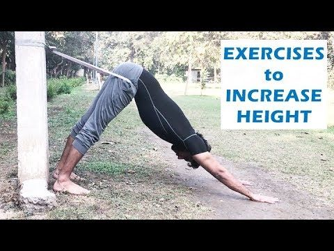 how to increase height in 1 week  exercises to grow