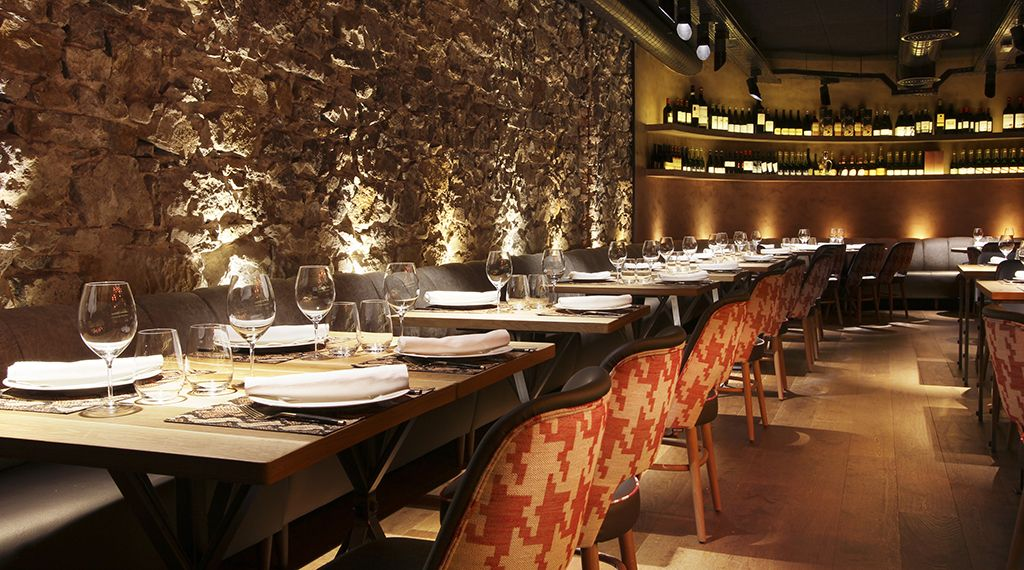 Restaurante Bilbao Berria Disenointeriores Verno Interiordesign