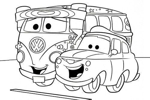 Dibujos E Imagenes De Carros Para Colorear Creatividad Coloring