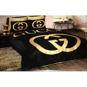 Gucci Gold Black Gold Bedroom Bedroom Comforter Sets Gold Bed