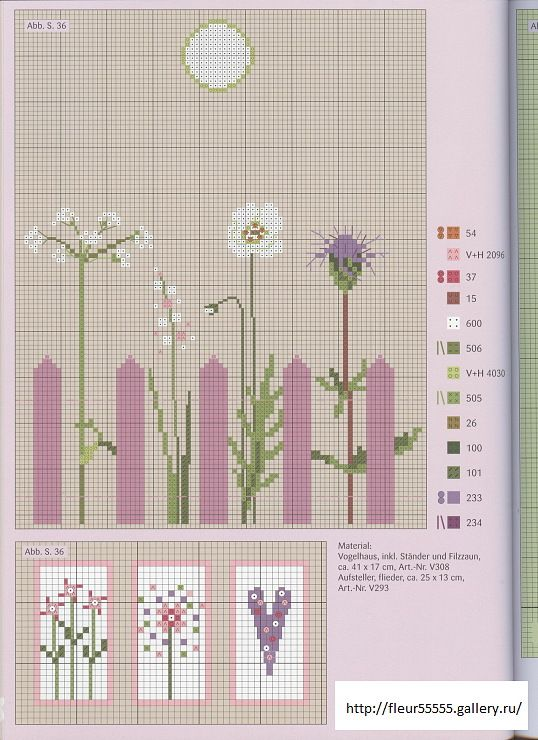36 8 fleur55555 flower and nature cross stitches pinterest. Black Bedroom Furniture Sets. Home Design Ideas