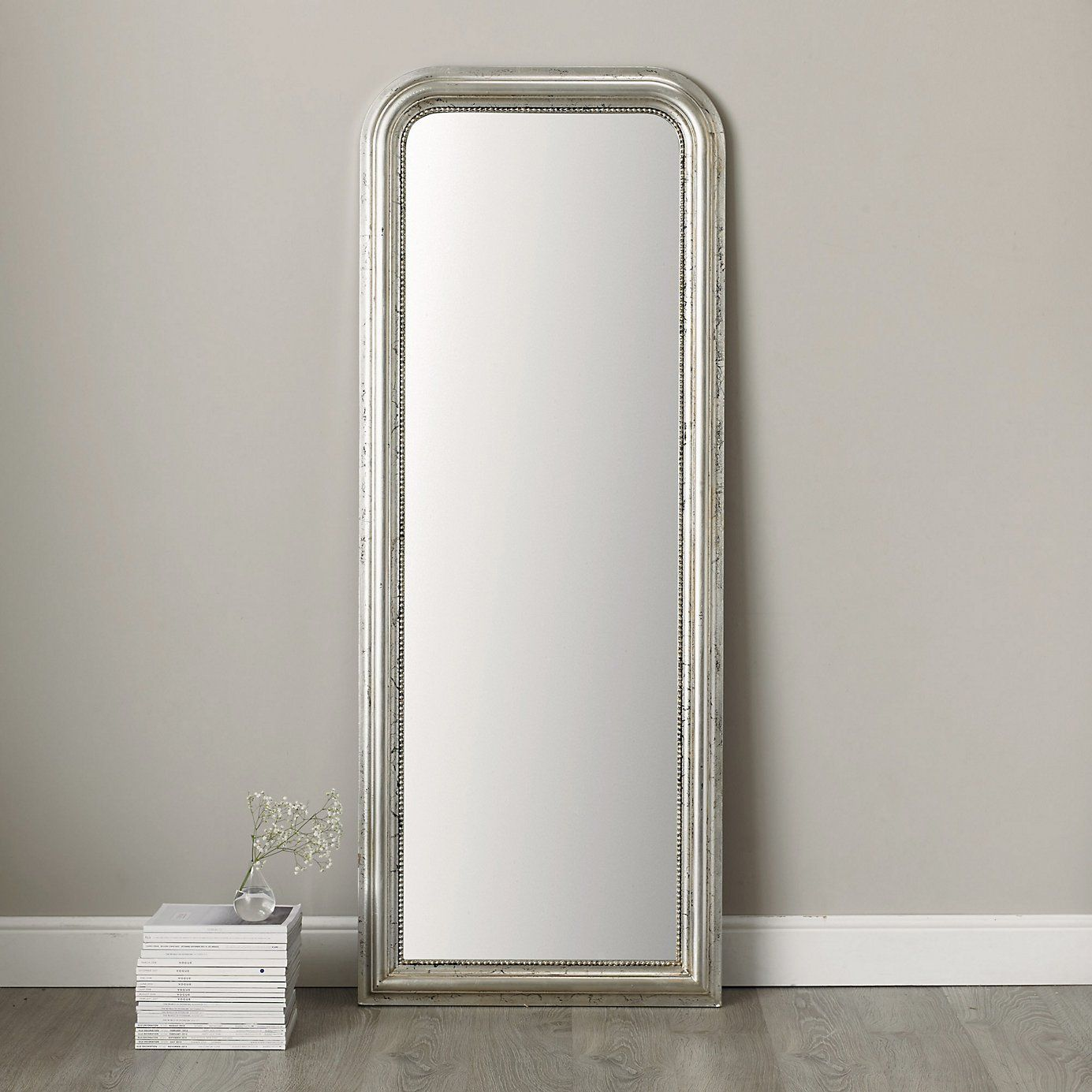Madison Full Length Mirror Silver The White Company