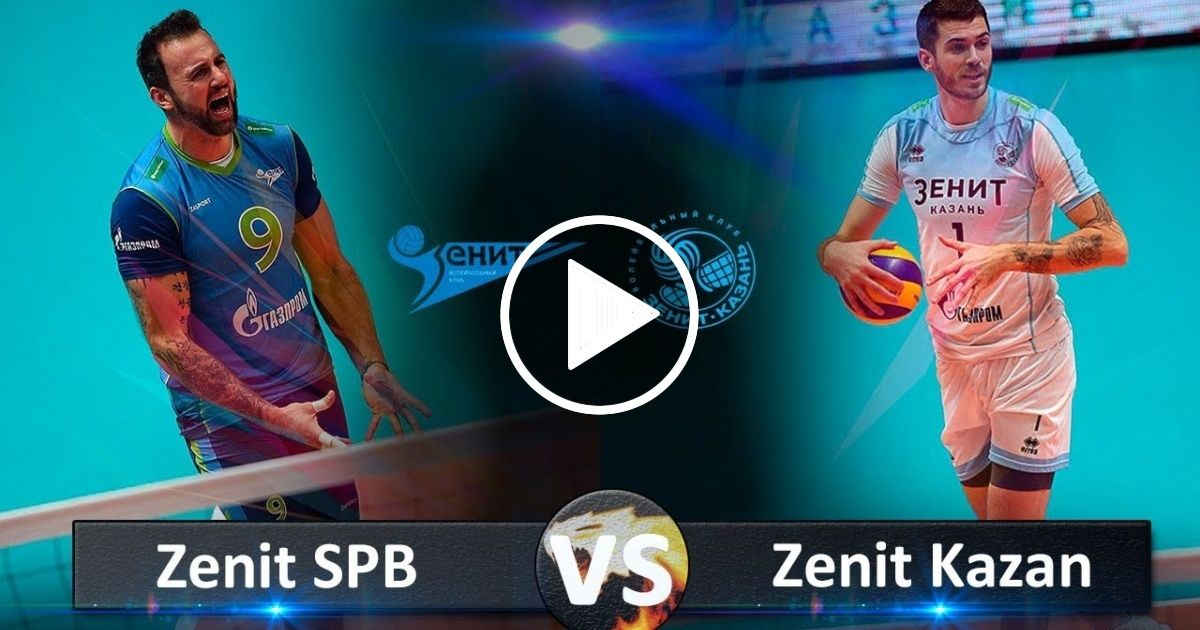 Zenit Kazan Vs Zenit Spb Highlights Russian Super Cup 2018 Sport Report Videos Kazan Professional Volleyball Volleyball Gifs
