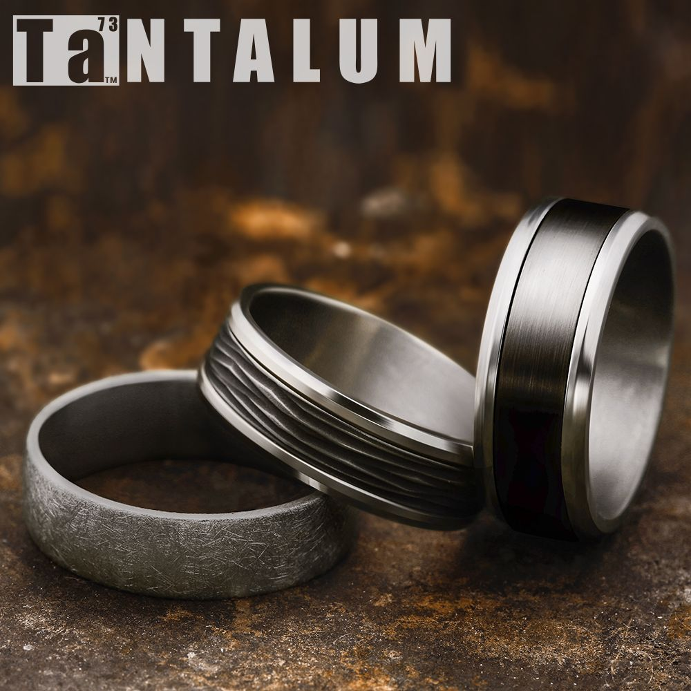 6 5mm Men S Wedding Ring With A Grey Tantalum Swirl Pattern Eucf565070gta 8mm Men S Tantalum Wedding Band With A B Benchmark Rings Rings Men S Wedding Ring