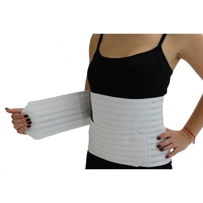 Gabrialla Breathable Abdominal Support Binder White, Women's, Size: Medium - G AB-309(W) M W