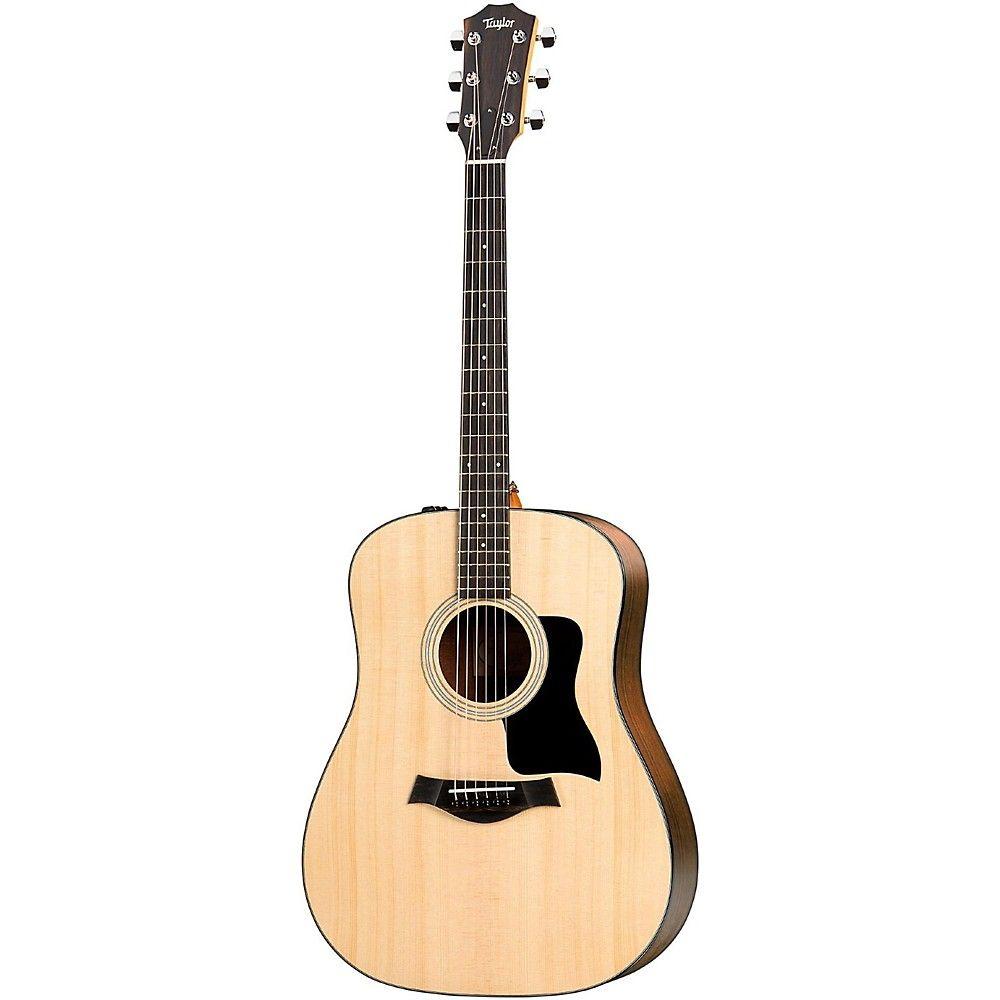 Taylor 100 Series 2017 110e Dreadnought Acoustic Electric Guitar In 2020 Acoustic Electric Guitar Guitar Guitar Case